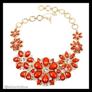 Amrita Singh Austrian Crystals Statement Necklace.